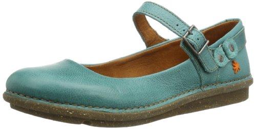 ART I DANCE, Scarpe con cinturino alla caviglia donna, Blu (Blau (ALBUFERA)), 36