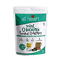 ALL HEART Mint Chocolate Seeded Crackers, 75gms
