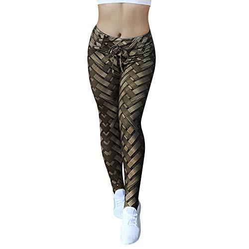 Gedruckte Leggings Hose Damen, ABsoar Yogahose Sporthosen Jogginghose Mode Stretch Hüfthose Strumpfhose Hohe Taille Yoga Pants Drucken Sporthose Workout Hosen Gym Legging Laufhose