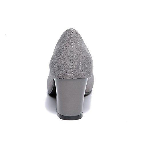 Balamasa, Grey Chaussures À Talons Hauts Pour Femmes