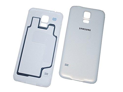 Akkudeckel Original Samsung S5 / S5 Neo weiß/white für G900F/G901F/G903F