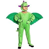 Sy20 Taglia 4-5A (104-110cm) Costume da Drago per bambini, indossabile comodamente sui vestiti (Drago Bambino Costume)