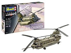 Revell-MH-47 Chinook, Escala 1:72 Kit de Modelos de plástico, Multicolor, 1/72 (Revell 03876 3876)