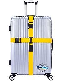 CSTOM Croix Sangles Bagages Sangle de Voyage Valise Bagage Clipsable