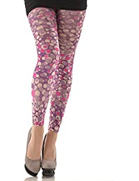 Hotlook Dolly Polly Leggings Punktmuster violett Punkte lila purple bunt