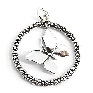 Giovanni Raspini 10625 Charm Anhänger Schmetterling Perlage