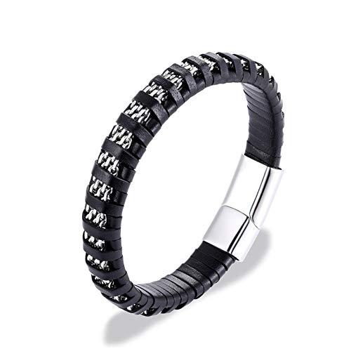 MHOOOA Hochwertige Anker Armbänder Männer Charme Nautische Überleben Seil Kette Armband Männlichen Wrap Metal Sport Haken - Nautische Weihnachten