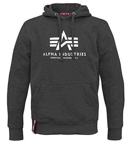 Alpha Hoodie (Alpha Ind. Basic Hoody Pullover schwarz - XL)