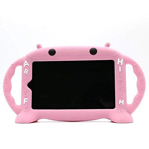Samsung Galaxy Tab 3/4/A/E Lite 7-Zoll-Tablet-Hülle für Kinder,CHINFAI Cartoon Roboter Shock Proof Silikon-Schutzhülle Cabrio-Griff-Ständer Kinderfreundlich Case für Samsung Modell P3200/T113