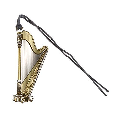metall-lesezeichen-musikinstrument-lesezeichen-mit-quaste-harp