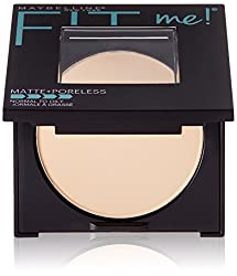Maybelline New York Fit Me Matte Plus Poreless Powder, Porcelain, 0.30 Ounce