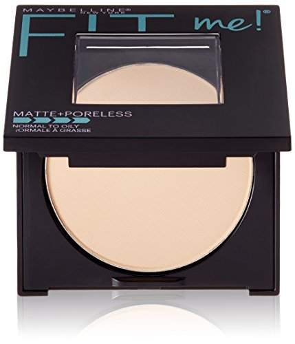 Maybelline New York Fit ME Matte with Poreless Powder, 110 Porcelain, 8.5g