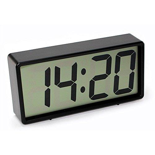 Reloj Despertador Números Gigantes (6.4cm) - Pantalla: 17 X 7 cm