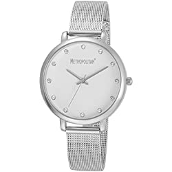 METROPOLITAN - montre femme - Made with Crystals from Swarovski