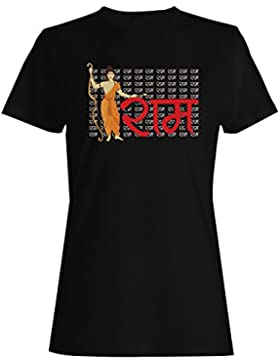 Regalo del rama del dios del hinduism camiseta de las mujeres f595f