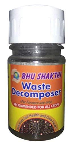 BHUSHAKTI Waste Decomposer (NCOF) (46 g, Pack of 10)