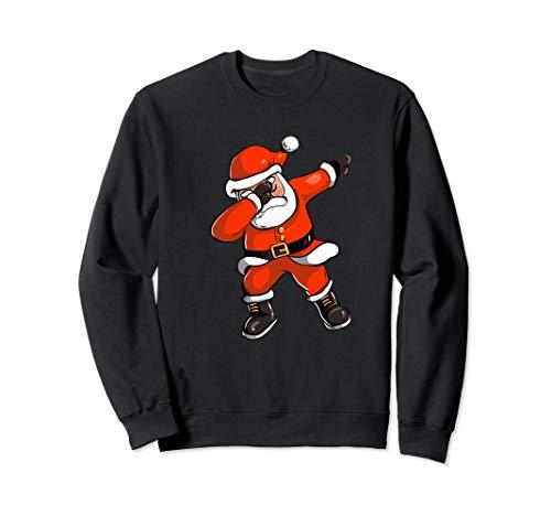Xmas Spaß Dabbing Santa Fröhlichen Tanz - Urlaub Geschenk Sweatshirt (Tanz Kostüm Urlaub)