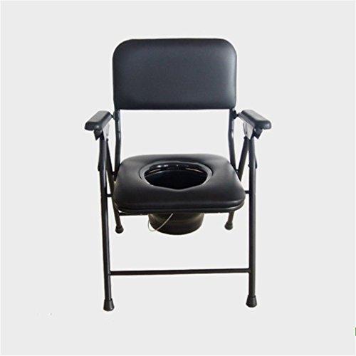 Lf sedia da toilette pieghevole in acciaio inossidabile mobile vecchio