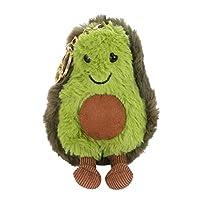 Spritumn Stuffed Plush Avocado Toys, Avocado Plush Keyring Doll Christmas Birthday Valentine