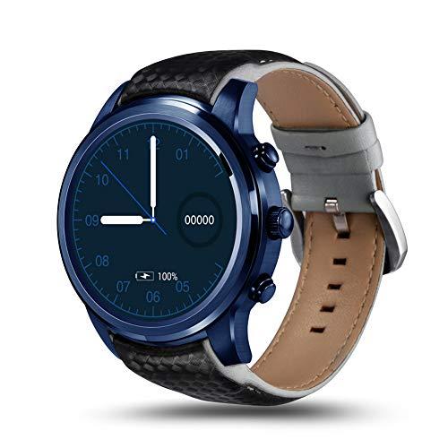 ZqiroLt Intelligente Uhr, LEM5 Pro 3G 16G+2G Nano SIM Card Dual BT 4.0/2.1 Fitness Smart Watch Bracelet Black Blue