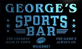 tj1230-b George's Sport Bar Beer Pub Club Neon Light Sign