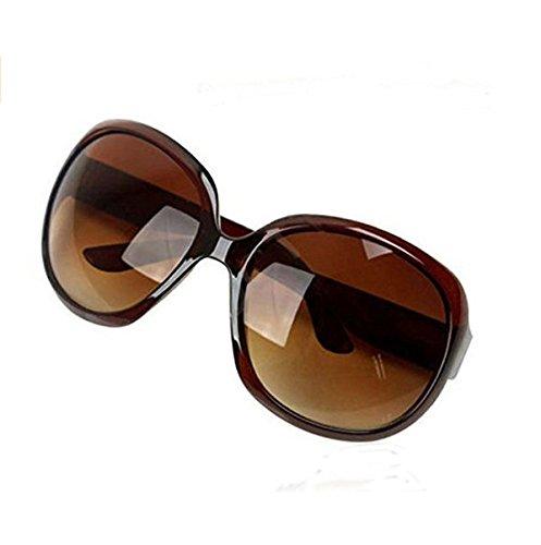 Xinyiwei Retro-Sonnenbrille, elegantes Design, für Damen, großer Rahmen