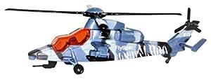 Richmond Toys 111084 - Helicóptero con diseño de flytiger Azul, Detalles auténticos, Cuchillas giratorias
