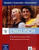 Englisch 10. Klasse, Vokabeln   Grammatik   Hörverstehen -