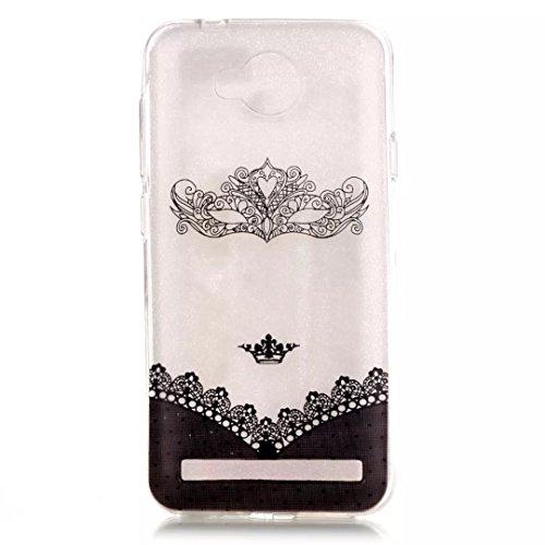 Preisvergleich Produktbild KSHOP Schutzhülle TPU Silikon Hülle für Huawei Y3 II / Y3 2 HandyHülle Etui Schale Schutzhülle Case Cover Tasche schlank kratzfeste - Maske