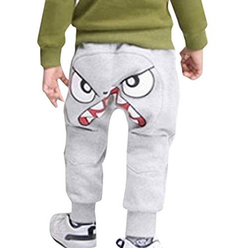 i-uend Neue 2019 Baby Hosen - Kinder Kinder Jungen Cartoon Vogel Zunge Harem Hosen Hosen Hosen für 1-5 Jahre - 1 4 3 Lockenstab