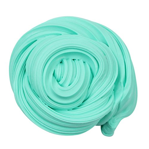 JiaMeng Juguetes de descompresión 2018,Beautiful Color Cloud Slime Squishy Putty Estrés perfumado Kids Clay Toy (Cielo Azul)