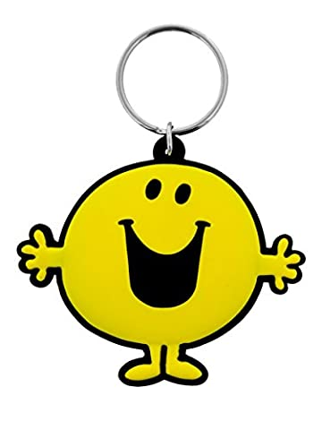 Herr Herren Happy Gummi Schlüsselanhänger