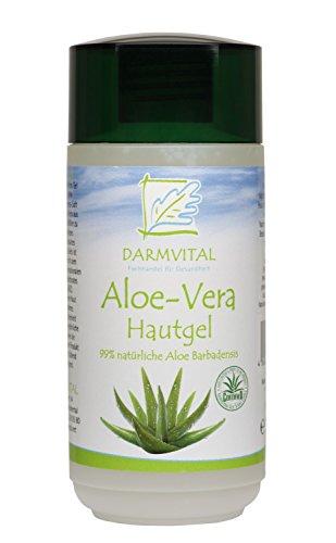 Darmvital Aloe Vera Hautgel natur - IASC Zertifizierung, 1er Pack (1 x 200ml)