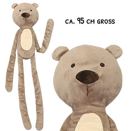 Schecker Riesen Hundespielzeug Bär 95 cm XXL Hundespielzeug (Hundespielzeug Xxl)