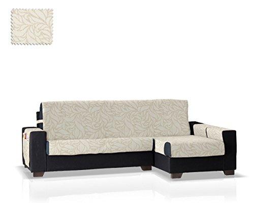 Jm textil salvadivano chaise leona bracciolo destro, dimensione standard (245 cm.), colore frassino