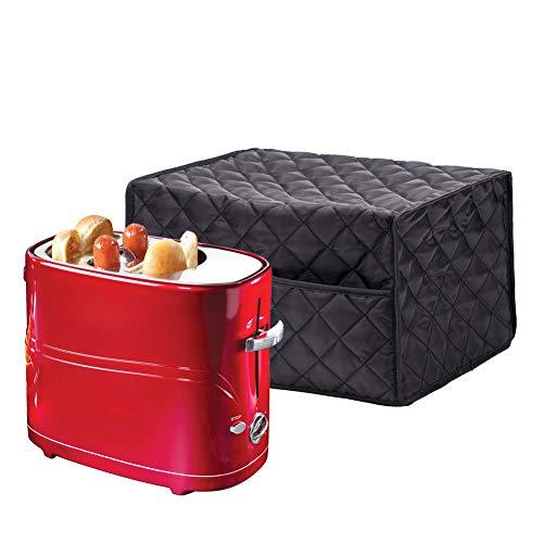 QEES Hot Dog Toaster-Abdeckung, dicke Baumwolle, Pop-Up-Hot-Dog-Toaster, Zubehör-Abdeckung, Schutz für Küche und Kleingeräte JJZ102