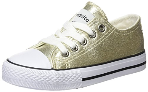 Conguitos Hv128310, Sneakers fille Doré