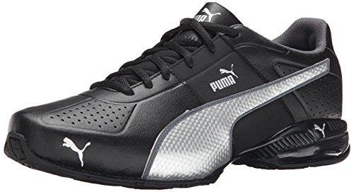 Puma cellulare Surin 2 Cross-formazione scarpe Black/Silver/Dark Shadow