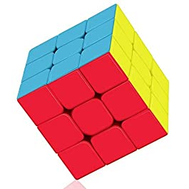 ROXENDA 3×3 Speed Cube, Cubo di velocità 3×3 Smooth Turning – Solid Durable & S