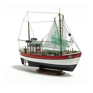 Billing Boats Barcos de facturación 1:60 Escala Arco Iris Pesca Cutter Kit Modelo de construcción