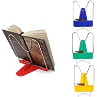 Inaaya 1 Pcs Portable Hands Free Reading Stand Holder for Books/Table Notepad Holder Stand for Kids and Adults Pack of