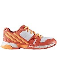 adidas Volley Team 4W - Zapatillas de voleybol para Mujer, Naranja - (CORSEN/NARBRI/FTWBLA) 38 2/3