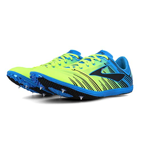 Brooks WIRE 4, Scarpe chiodate da mezzofondo, Nightlife/BrooksBriteBlue/Black, 44 EU