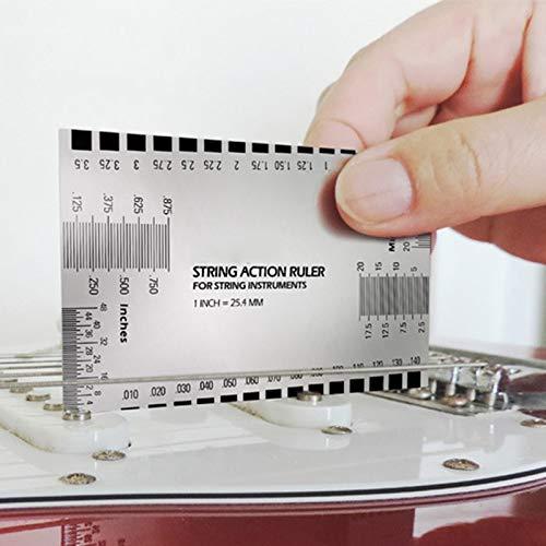 1 Pz Accessori Chitarra Strumento a corda Scala Righello Barocco Chitarra Basso Strumento a corda for liutaio for strumenti a corda Nuovo 42 B