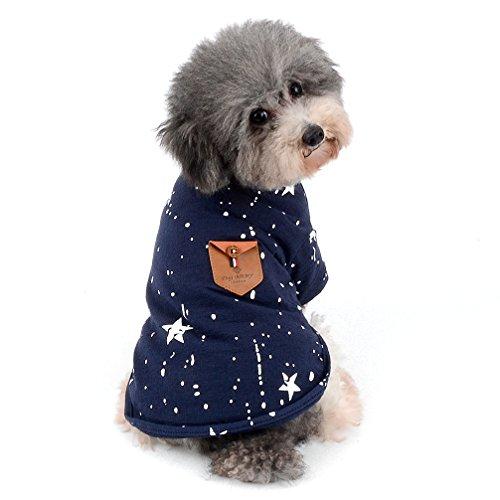 Ranphy 2018neuen Sommer bedruckt Weste für kleine Hunde/Katzen Boy Soft T-Shirt Puppy Kleidung (Größe S-XXL alle für kleine Tier) (Für Halloween-kids Katze Gesichter)