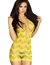Angels331 - Mini-jupe jaune très sexy