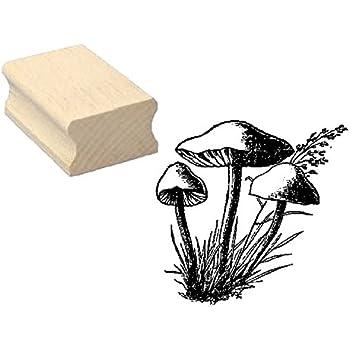 Pflanze Stempel Holzstempel Motivstempel /« LILIE K/ÖNIGSLILIE /» Scrapbooking