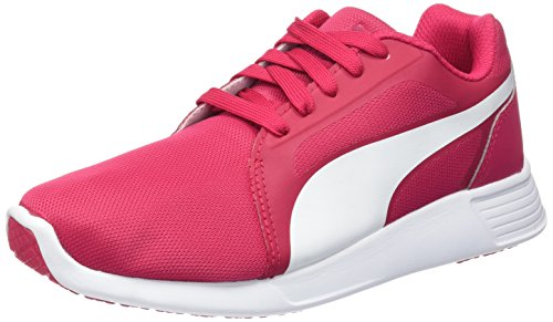 Puma ST Evo, Chaussures de Running Compétition Mixte Adulte Rose (rose red-white 05)