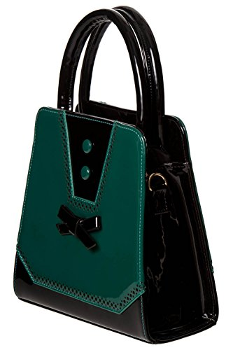 Dancing Days, Borsa a mano donna black-teal