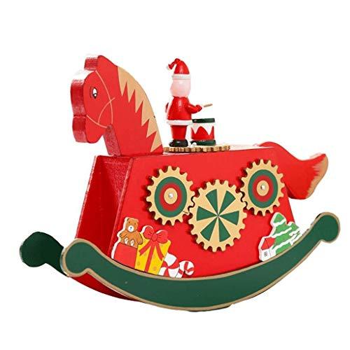 Caja música Árbol Navidad Caja música Decoraciones